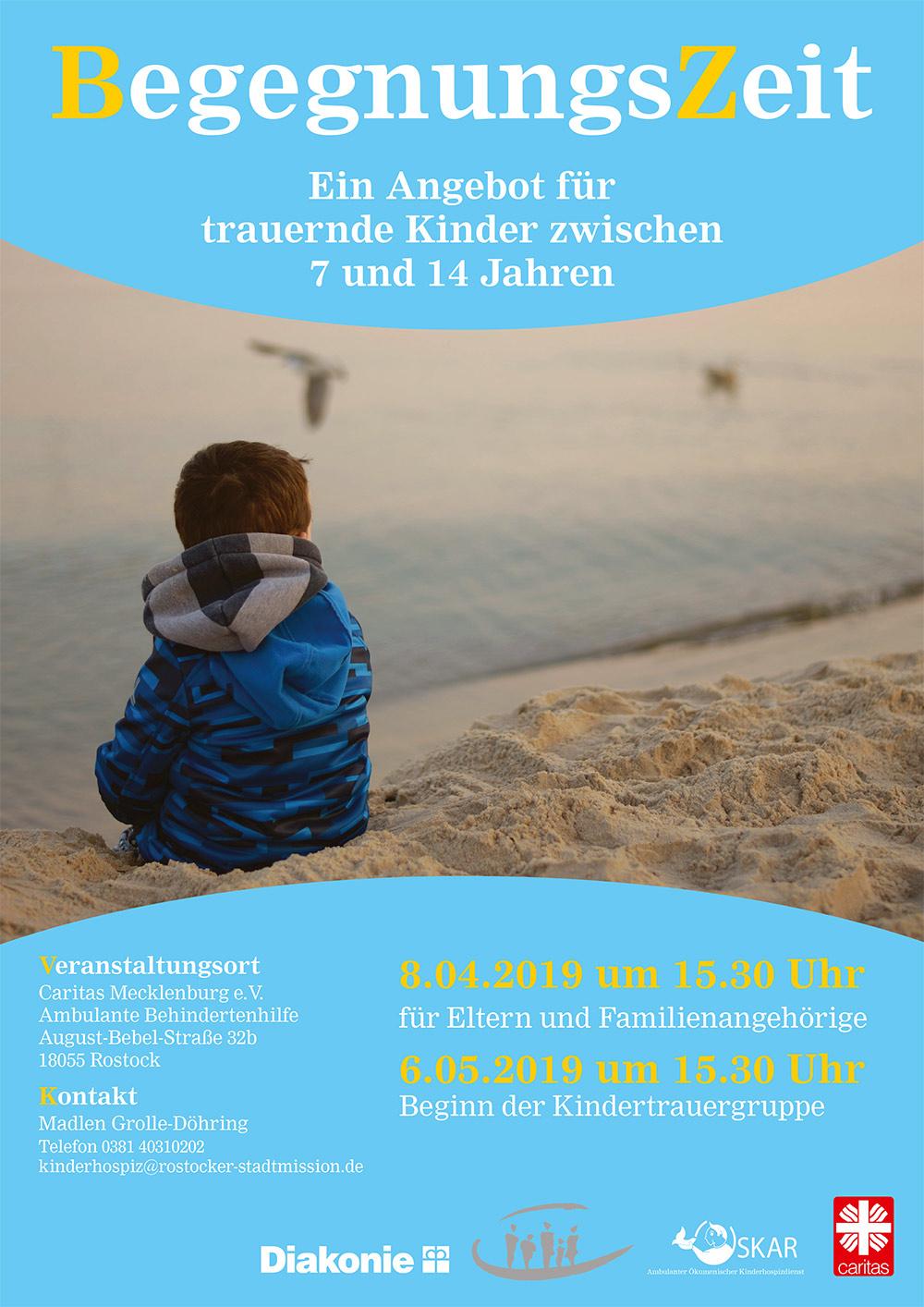 BegegnungsZeit Kindertrauergruppe @ Caritas Mecklenburg e.V. Ambulante Behindertenhilfe